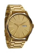 Nixon Analog Sport Watch Sentry SS Gold Mens A356502