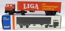 Lion Car 1/50 Scale - Nr.59 DAF Liga Trekker Met Eurotrailer Model Truck