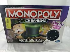 MONOPOLY Voice Banking Board Game Original ~ New Sealed