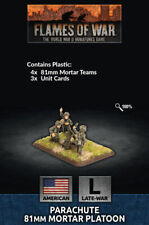 Flames of War Late War American Parachute 81mm Mortar Platoon (Plastic) Us794
