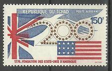 Tchad Chad 200° Anniversaire Independance Usa National Day Drapeau Flag ** 1975