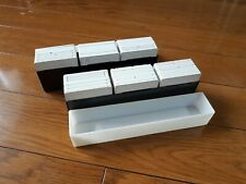 100 Fujifilm Fujichrome Slide Mounts Cases in Box - 35 x 25 mm - Plastic