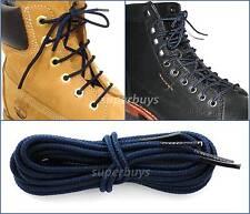 Navy Blue 180cm Timberland Hiking Trekking Shoe Work Boot Laces Trek Hike 8/10