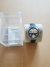 Swatch watch SUYK112 Total Blue Brand New in box unwanted gift