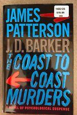 THE COAST TO COAST MURDERS A NOVEL BY JAMES PATTERSON & J.T. BARKER 2020 HB/DJ