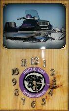 New listing 1971 Arctic Cat Puma 634 Hirth snowmobile wood clock