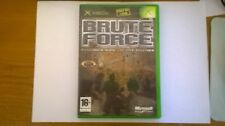 Brute Force Microsoft Original Xbox Video Game Complete PAL VGC With Manual