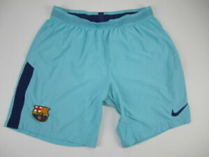 Mens Large Barcelona Nike Vapor Match blue shorts 17/18