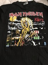Iron Maiden Brave New World Tour Shirt RARE Killers Ozzy Priest Nwobhm
