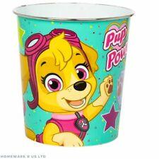 KIDS CHILDRENS PAW PATROL BEDROOM BIN WASTE PAPER RUBBISH FURNITURE
