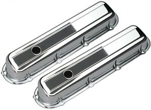 Trans-Dapt Performance Products 9521 Chrome Plated Steel Valve Cover