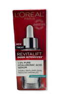 L'Oreal Revitalift Derm Intensives 1.5% Pure Hyaluronic Acid Serum 1.0fl.oz/30ml