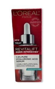 L'Oreal Revitalift Derm Intensives 1.5% Pure Hyaluronic Acid Serum 1.0fl.oz/30ml