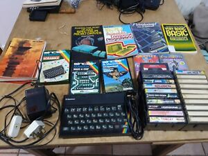 Sinclair ZX Spectrum 48k Computer With Manuals, Games And Accessories