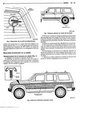Manuel atelier technique réparation entretien maintenance Jeep Cherokee XJ
