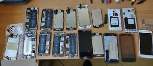 Stock iPhone 6s, 5s,  e Samsung j6 per pezzi di ricambio
