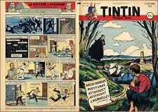 TINTIN 1951 FR/Français n° 154 04/10/1951 n° charnière  BE+/TBE
