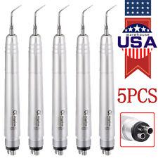 5packs Dental Ultrasonic Air Perio Scaler Handpiece Hygienist 4h 3 Tips G1g2p1