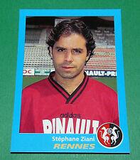 N°302 ZIANI RENNES STADE RENNAIS PANINI FOOT 96  FOOTBALL 1995-1996