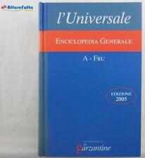 J 5792 VOLUME L'UNIVERSALE LA GRANDE ENCICLOPEDIA TEMATICA VOL 1 EDIZIONE DEL...