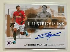2019-20 Panini Impeccable Illustrious Ink Anthony Martial Manchester United /49
