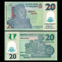 Nigeria 20 Naira, P-34, 2018, UNC, Banknotes