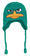 Perry The Platypus Wink Agent P Phineas And Ferb Adult Peruvian Laplander Hat