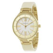 Anne Klein White Dial Ivory Resin Bangle Ladies Watch 1958IVGB