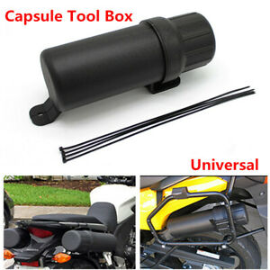 Motorcycle Bikes Capsule Tool Box Case Bag Storage fit for BMW Honda Kawasaki