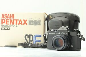PENTAX SPOTMATIC F SPF Black w/ Box, SMC TAKUMAR 55mm F/1.8 Standard Lens Kit