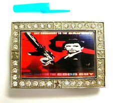 3D FLIP CHANGING PICTURE MOVING IMAGE SCARFACE MOVIE AL PACINO MOVIE BELT BUCKLE