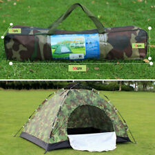 Ultralight Camping Tent Family Hiking Tent Camouflage Waterproof 1/2/3/4 Person