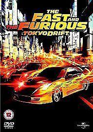 The Fast and the Furious: Tokyo Drift DVD (2006) Lucas Black, Lin (DVD) cert 12