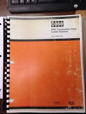 Case 580C Loader Backhoe Parts Book Manual F1283