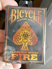 1 Deck Bicycle Elements Series Fire Playing Cards, new, sealed