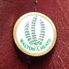 Walton Heath Golf Club Ball Marker (Vintage Brass)