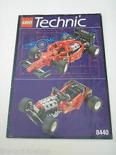 Notice Building instruction booklet LEGO TECHNIC set 8440 Formula Flash