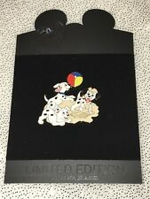 Disney HTF 101 Dalmatians Ocean Series  Puppies Beach Ball Sand 2008 LE 250 pin