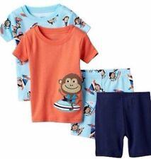 Carter's pijama 4 pzas. estados unidos 74-80 2x Pajama ropa de noche brevemente mono algodón