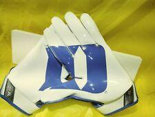 New Nike Vapor Jet 4.0 Ncaa Duke Blue Devils Football Gloves Pgf431-481 Men'S Xl