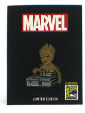 Guardians Of The Galaxy 2017 SDCC Exclusive Groot & Bomb Enamel Pin Limited 1000