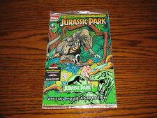 Topps - JURASSIC PARK #1 Comic!! Unopened Polybag! 1993  MOVIE!!