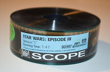 Star wars épisode 3-Original 35 mm US Movie Caravane celluloïd Scope RARE