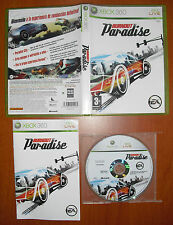 Burnout Paradise, Criterion, Xbox 360 / One, Pal-España ¡¡COMPLETO BUEN ESTADO!!
