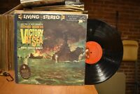 Rodgers Victory at Sea Vol. 2 LP RCA LSC-2226 Stereo Shaded Dog GF pamphlet