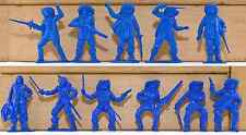 Jecsan - 20 17th Century French Musketeers - unpainted 60mm plastic