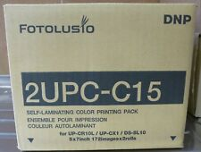 """SONY/DNP 2UPC-C15 per stampante fotografica SnapLab 5""""x7"""" ** Nuovo in Scatola **"""