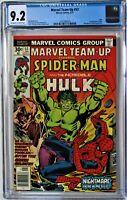 Marvel Team-Up #53 CGC 9.2 1977 MARVEL Hulk 1st Byrne On X-men - FREE SHIPPING!