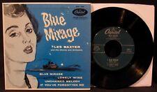 LES BAXTER: Blue Mirage-Jazz 45 EP-CAPITOL #EAP1-599