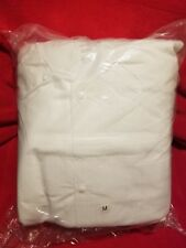 Lab Coat, Disposable White SFS 10/Count, Sizes Medium & X-Large